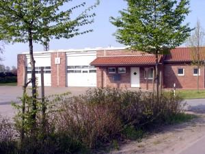 Gerätehaus der Feuerwehr Friedewalde an der Kleiriehe