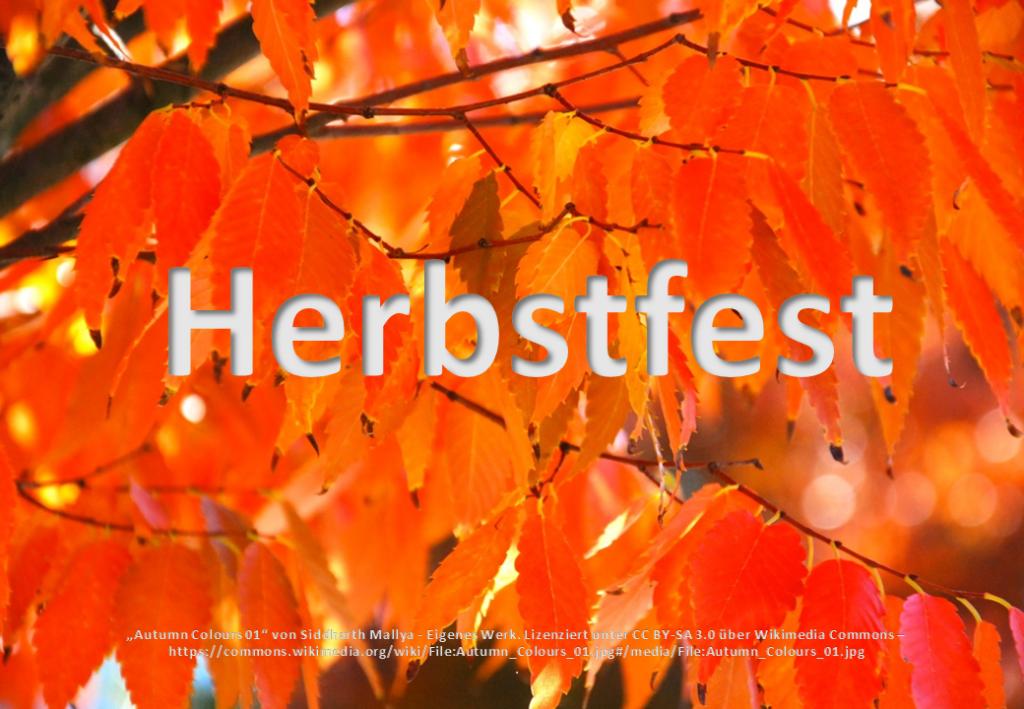 Herbstfest in der Grundschule Friedewalde