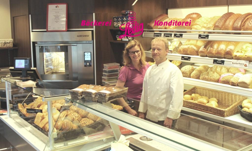 Andreas und Anette Ledig eröffnen am 15.Oktober eine weitere Backfiliale in Friedewalde. FOTO: Bäckerei Ledig