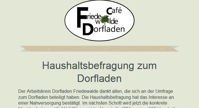 Newsletter Dorfladen