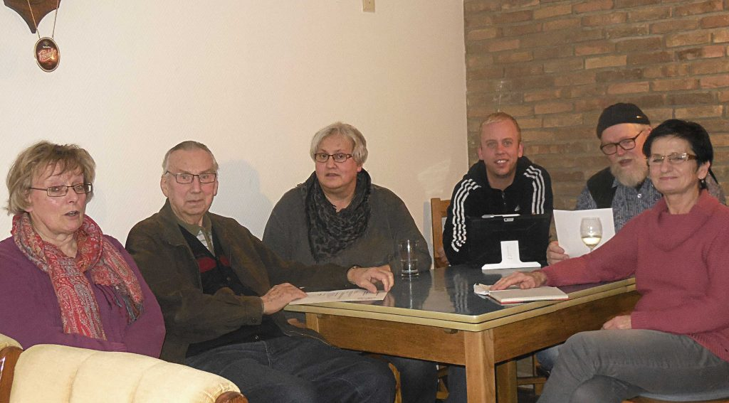 Diskussion über Turnhalle Friedewalde