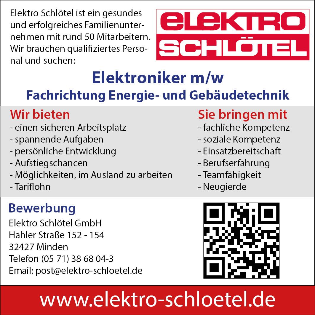 Elektro Schlotel Elektroniker Energie Und Gebaudetechnik 90