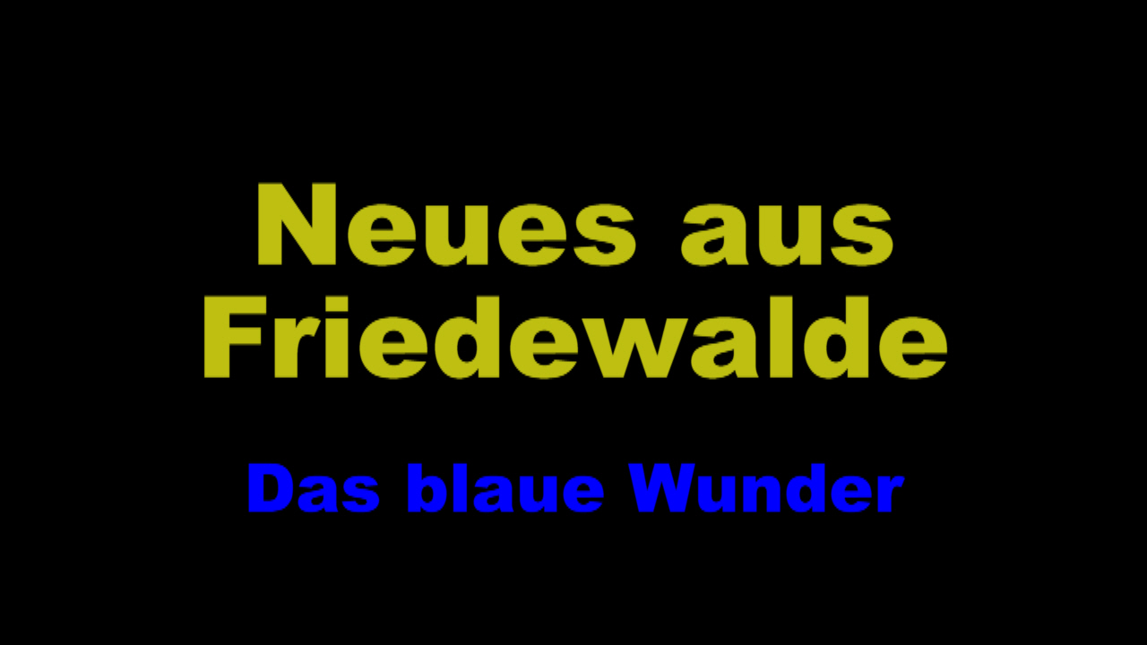 das blaue wunder friedewalde. Black Bedroom Furniture Sets. Home Design Ideas