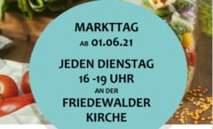 Handzettel Friedewalder Dorfmarkt