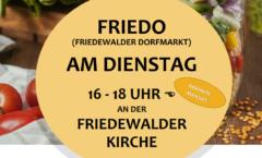 Handzettel FrieDo ab 24.08.2021